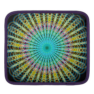 Ring Structures Mandala Sleeves For iPads