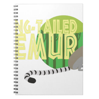 Ring-Tailed Lemur Note Books