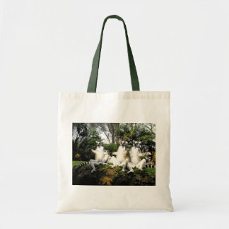 Ring tailed lemurs warming up in Spain Tote Bag