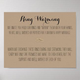 Ring Warming Sign