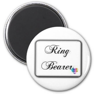Ringbearer-box 2 Inch Round Magnet