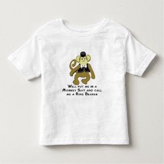 Ringbearer/ Monkey Tees