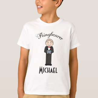 Ringbearer Wedding Personalized T Shirt