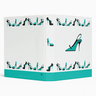 Ringbinder de chaussure - turquoise