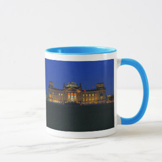 Ringer cup powder-blue Berlin Reichstag in the