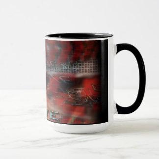 Ringer Mug EVOLVE TEXT GRAPHIC