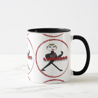 Ringer Mug LOVERBOY CIRCLE LOGO