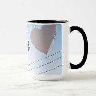 Ringer Mug POWER OF LOVE SILOUETTE