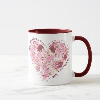 Ringer Mug: Spreading Aloha (6 Colors Avl) Mug