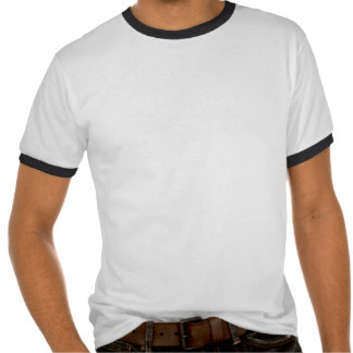Ringer t-shirt black and white with tiger tee shirts