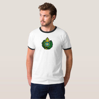Ringer t-shirt with Blazon of the Imperial flag