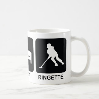 "Ringette ""Eat Sleep Ringette"" Mug"