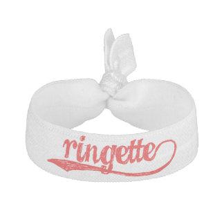 Ringette Hair Tie - Red
