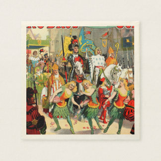 Ringling Bros: Joan of Arc Paper Napkins
