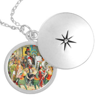 Ringling Bros: Joan of Arc Silver Plated Necklace