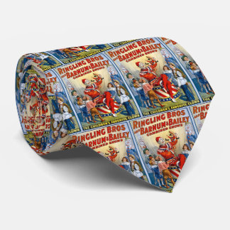 Ringling Brothers & Barnum & Bailey Vintage Clown Tie