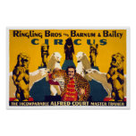 Ringling Brothers & Barnum & Bailey Vintage Poster