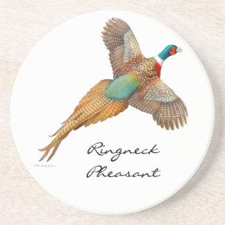 Ringneck Pheasant Customizable Coaster