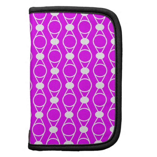 Rings and Dots Pattern - Hot Pink Organizers