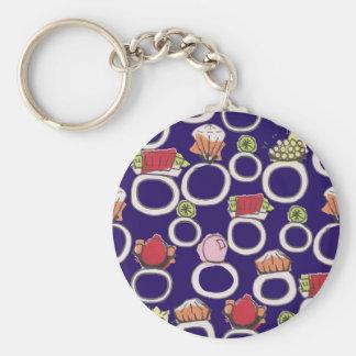 Rings Keychain