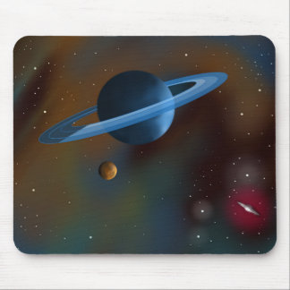 """Rings of Neptune"" Mouse Pad"