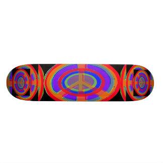 Rings of Peace Skate Board