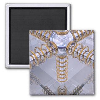 Rings of Power Square Magnet