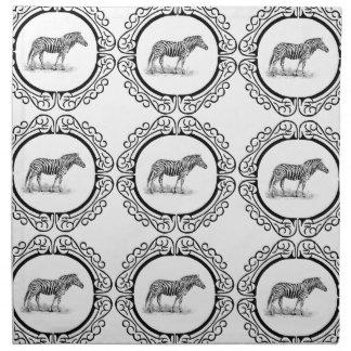 rings of the zebra napkin