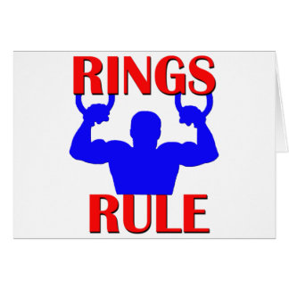 Rings Rule Card