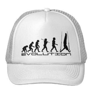 Rings Still Gymnastics Sport Evolution Art Hat