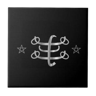 Ringstone symbol- Bahai religious icon Tile