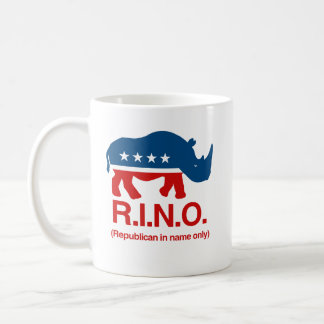 RINO - Republican in name only.png Coffee Mug