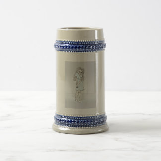 Rinoa, Anime Art Gallery Character 18 Oz Beer Stein