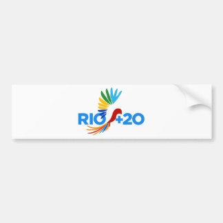 Rio+20 Alternative Logo Bumper Sticker
