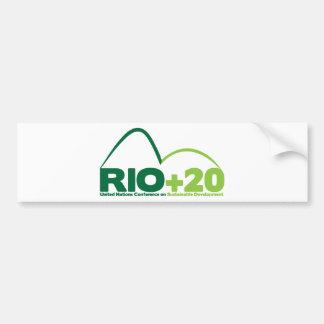 Rio +20 UN Conference Bumper Sticker