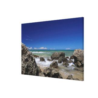 Rio Da Barra Beach | Trancoso, Bahia State, Canvas Print