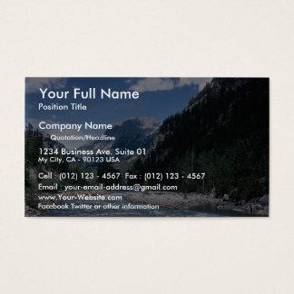 Rio de Animas in the San Juan Mountains, Colorado, Business Card