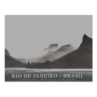 rio de janeiro, brasil postcard