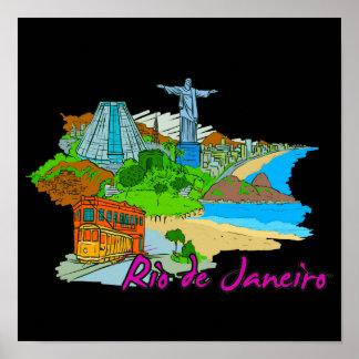 Rio De Janeiro - Brazil Poster