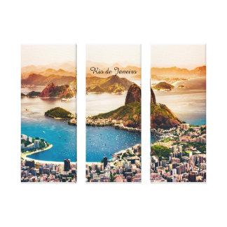 Rio de Janeiro Canvas Print