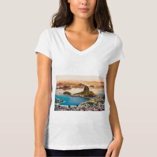 Rio De Janeiro Cityscape View T-Shirt