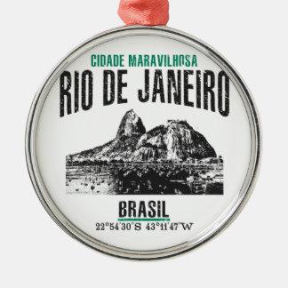 Rio de Janeiro Metal Ornament
