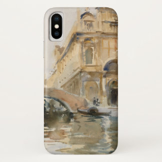 Rio dei Mendicanti, Venice by John Singer Sargent iPhone X Case