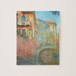 Rio della Salute 03 by Claude Monet Jigsaw Puzzle