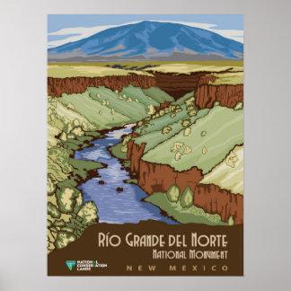 Rio Grande Del Norte Poster