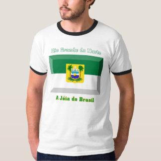 Rio Grande do Norte Flag Gem T-Shirt