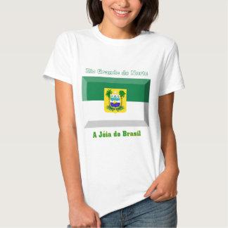 Rio Grande do Norte Flag Gem Tees