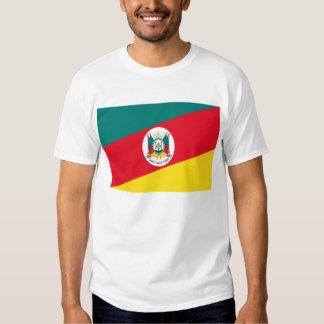 Rio Grande do Sul, Brazil Flag T Shirts
