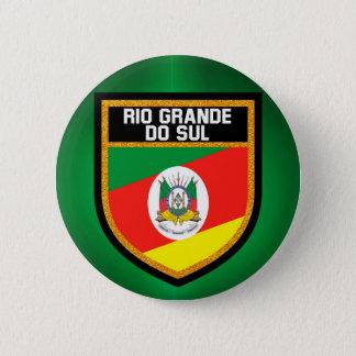 Rio Grande do Sul Flag 2 Inch Round Button