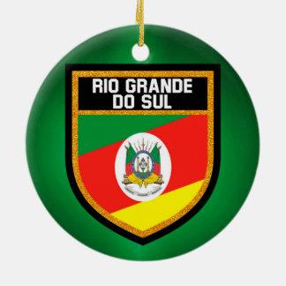 Rio Grande do Sul Flag Ceramic Ornament